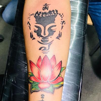 Bikaner Buddha Tatoo